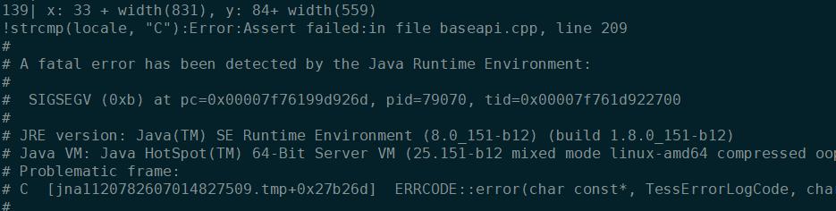 tess4j-4 3 0对应tesseract 4 0 0 linux so版本编译记录-KxのBook -256kb